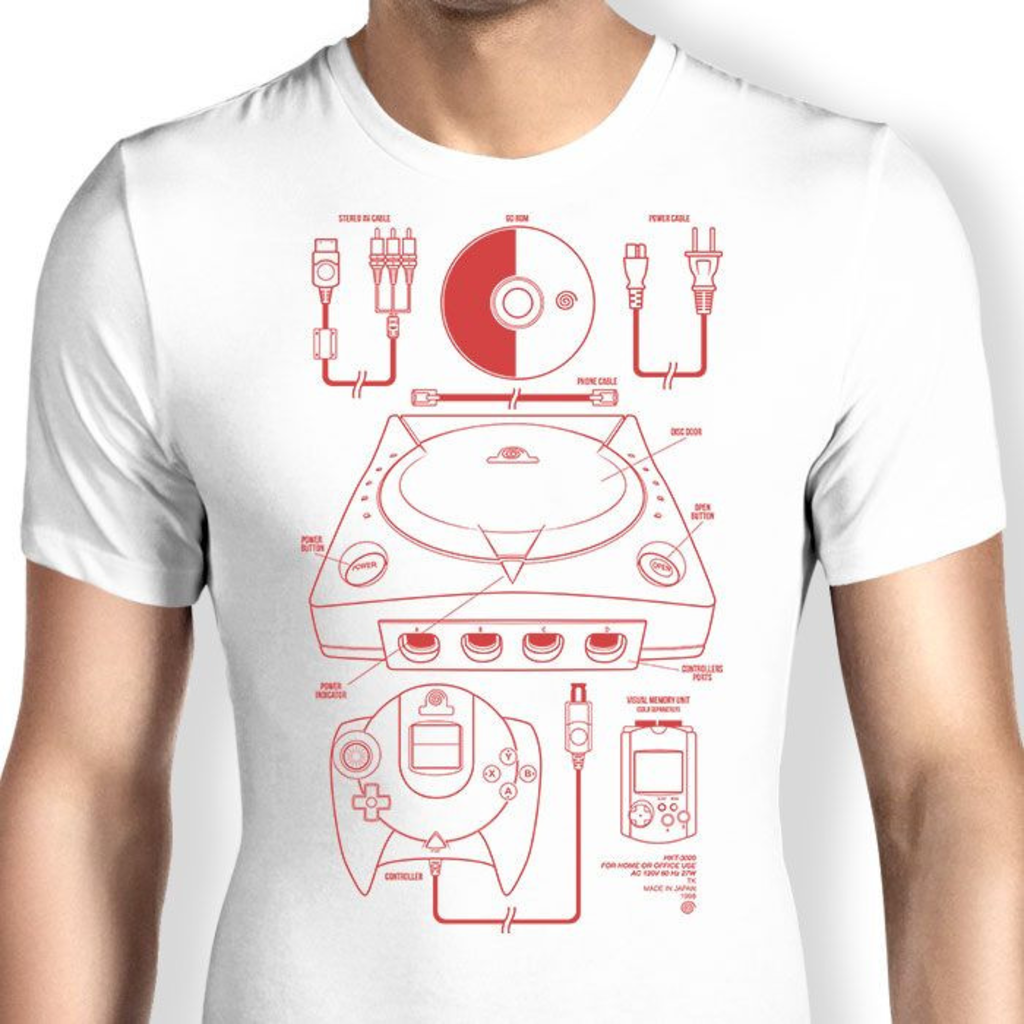 Once Upon a Tee: The Dream Machine