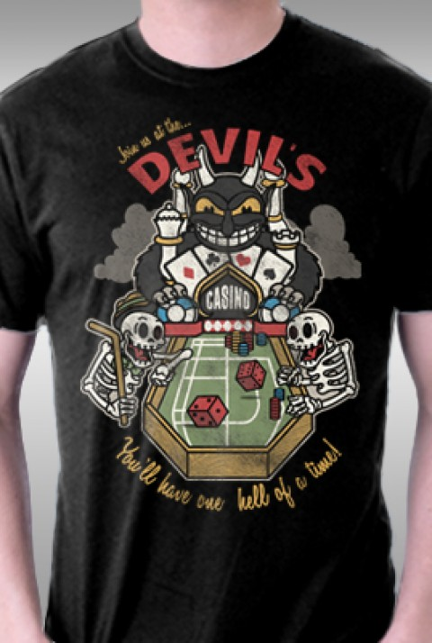 TeeFury: Devil's Casino