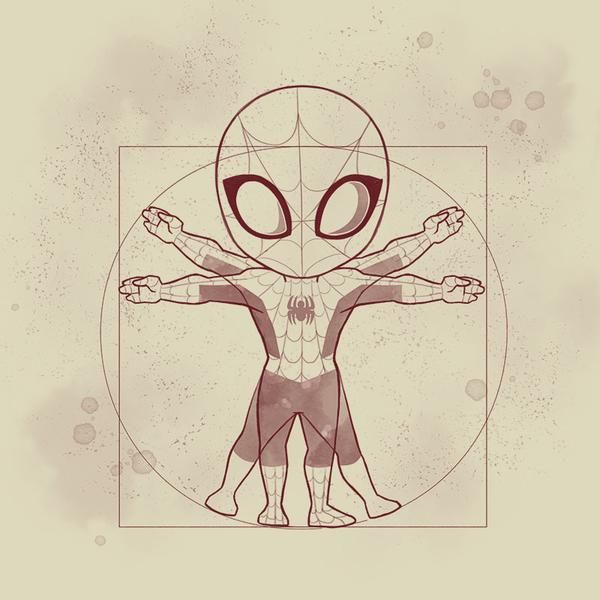 TeeTurtle: Vitruvian Spider-Man