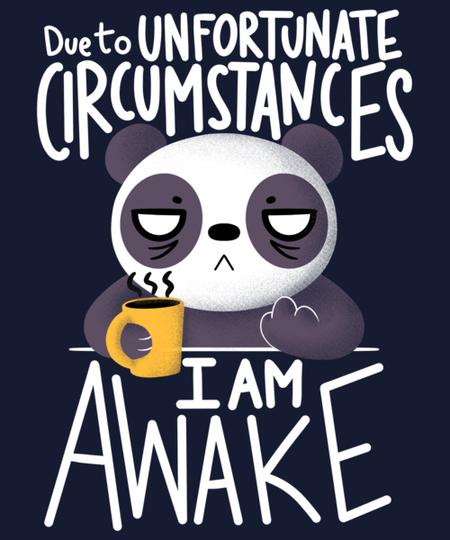 Qwertee: Morning Panda