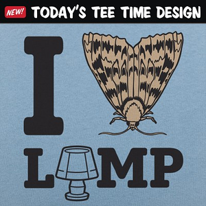 6 Dollar Shirts: I Moth Lamp