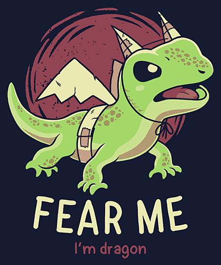 Qwertee: Fear Me