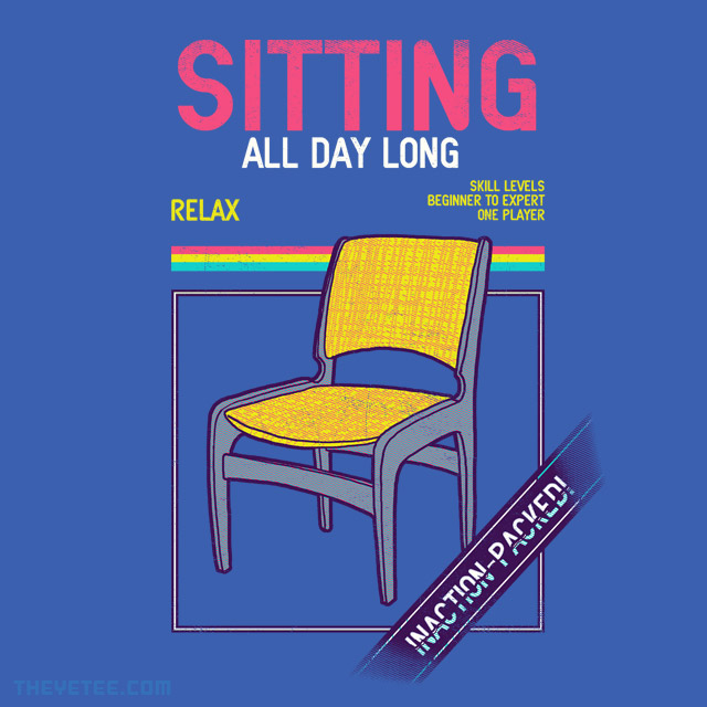 The Yetee: Sitting