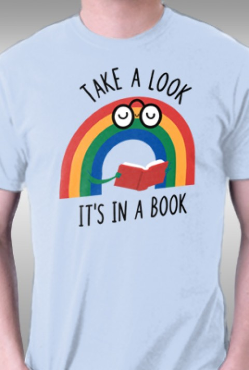 TeeFury: Rainbow Reader