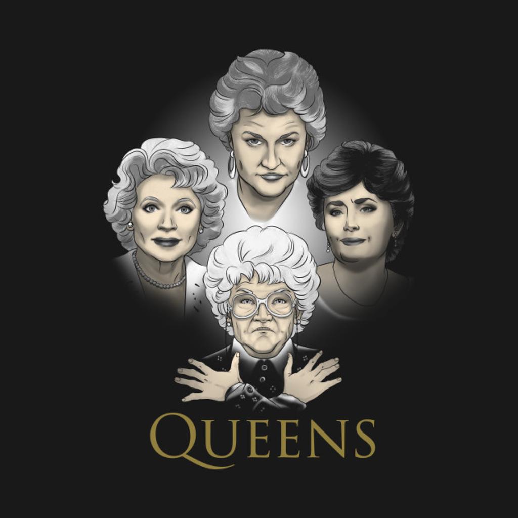 TeePublic: Golden Queens