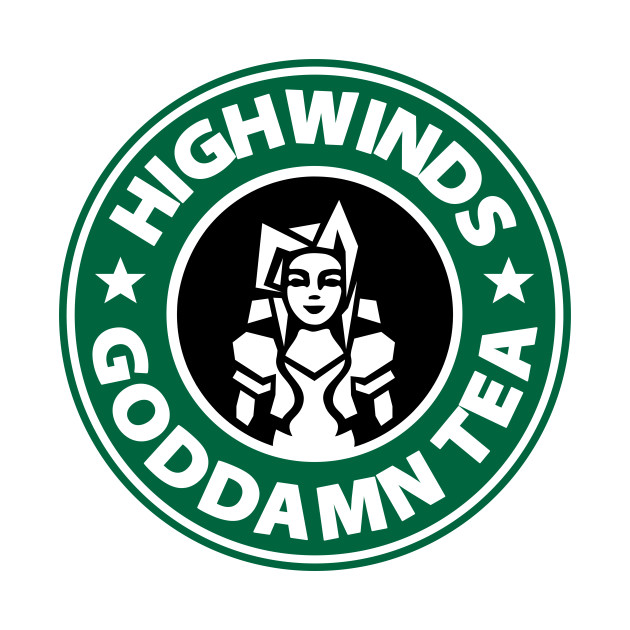 TeePublic: Highwinds Goddamn Tea