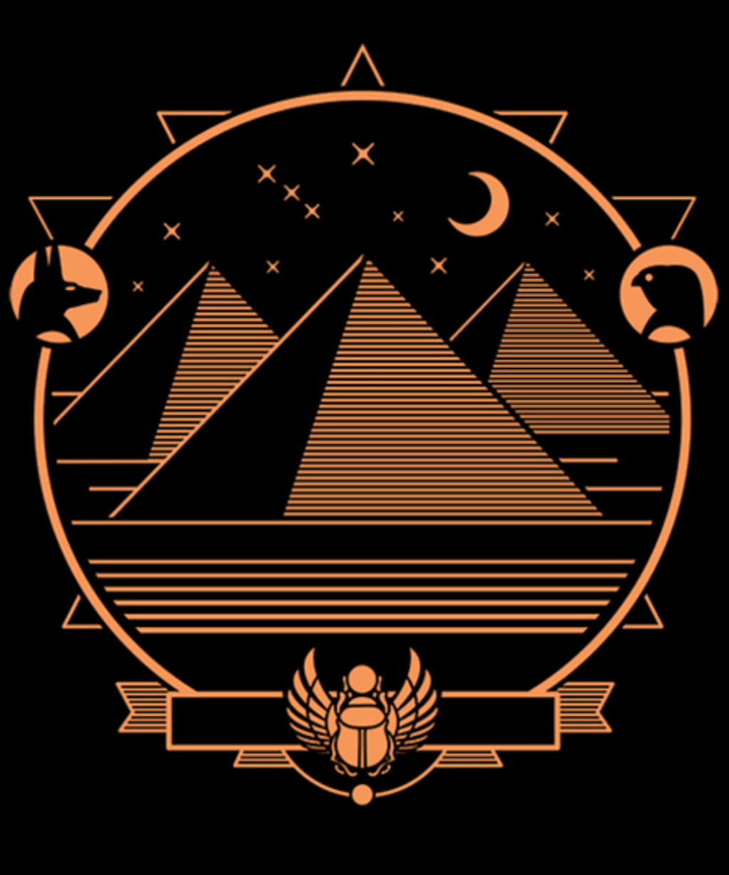 Qwertee: Mystical Egypt