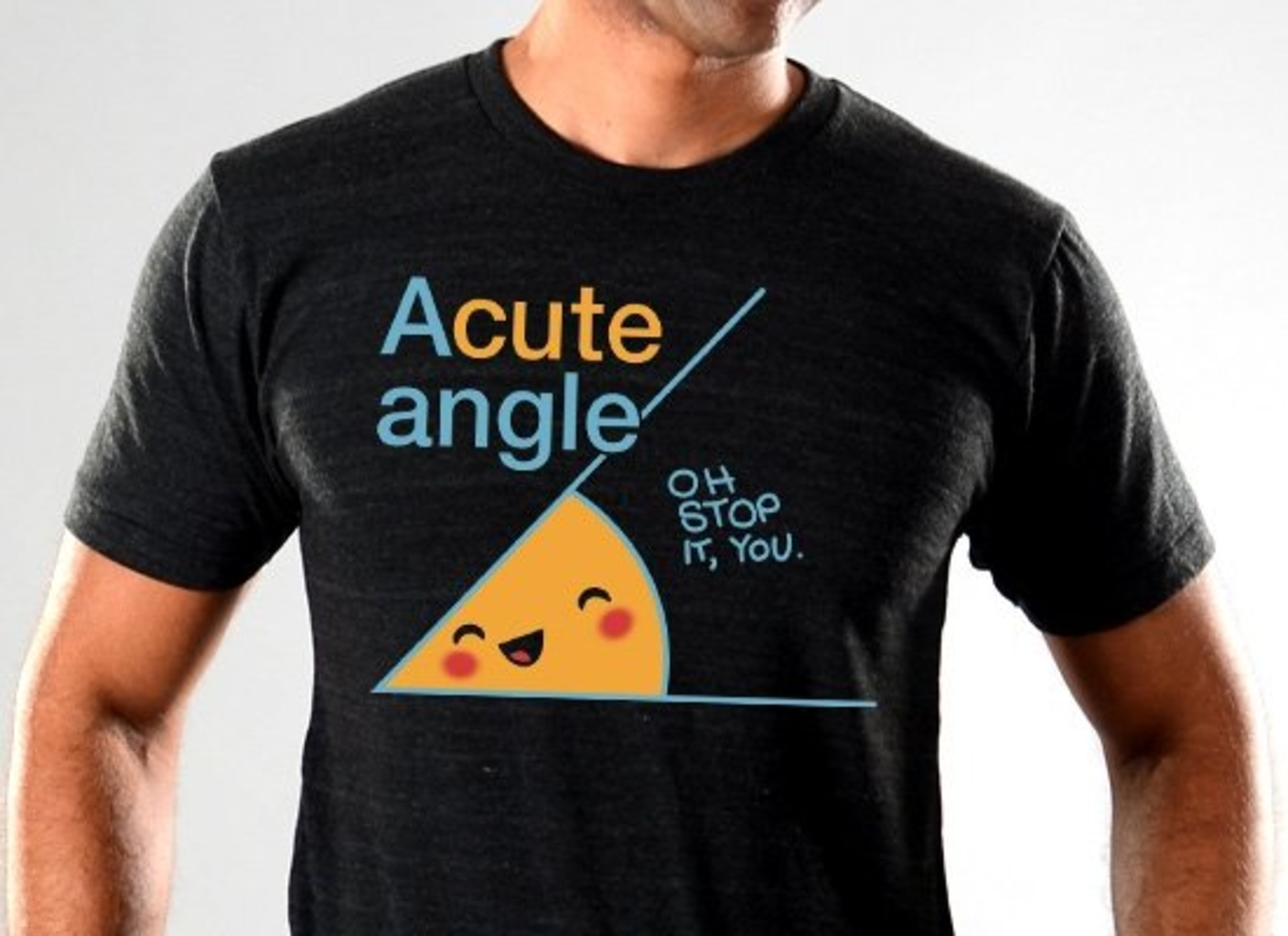 SnorgTees: Acute Angle Limited Edition Tri-Blend