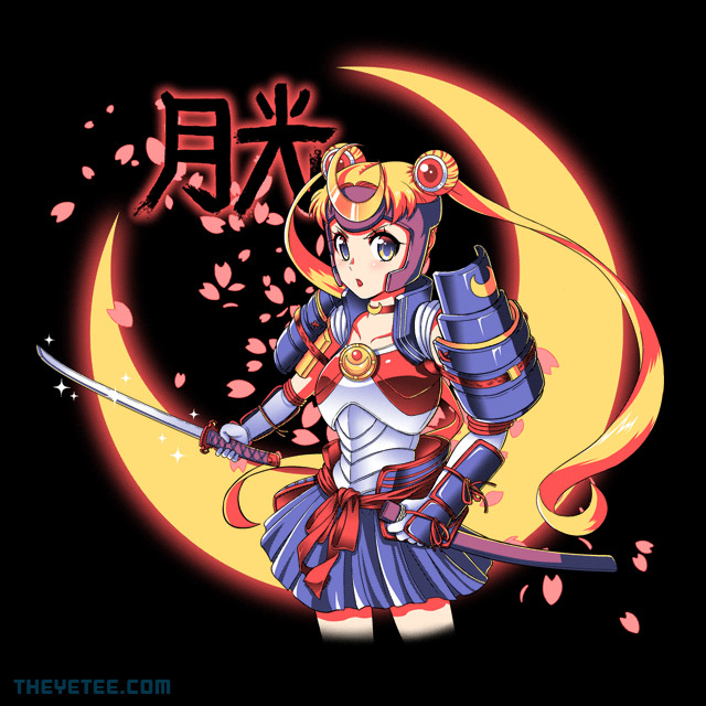 The Yetee: Moon Light Samurai