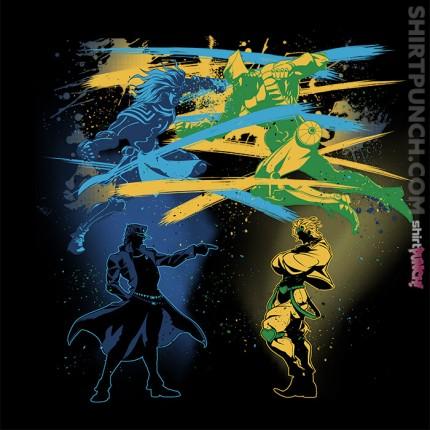 ShirtPunch: Stardust Crusaders