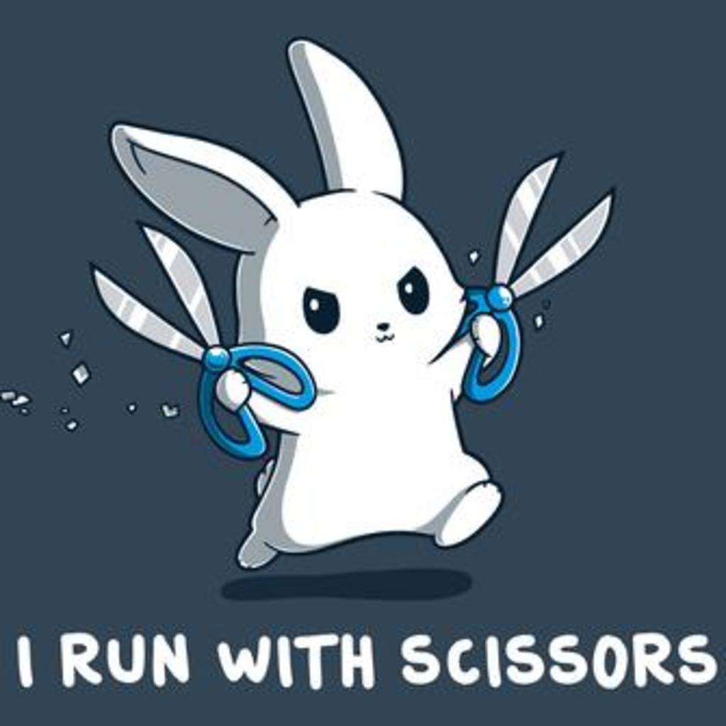 TeeTurtle: I Run With Scissors