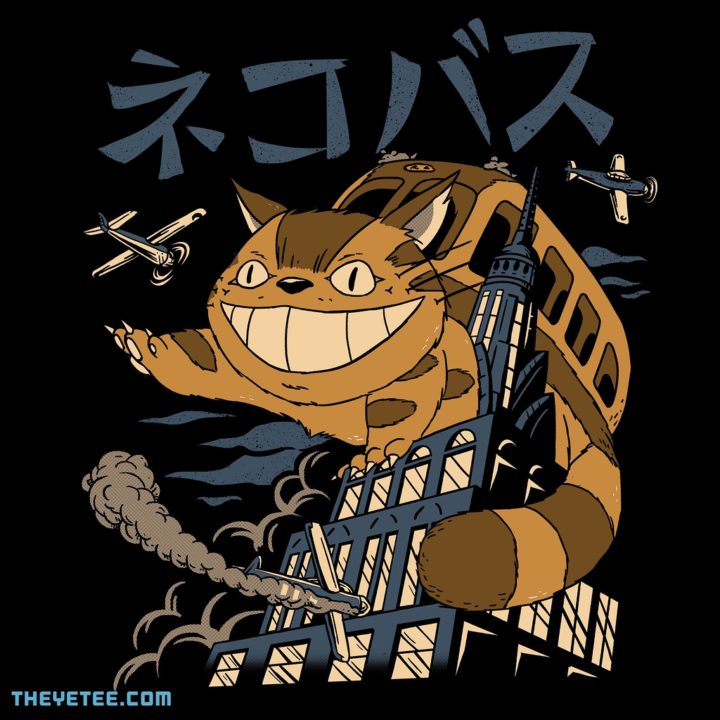 The Yetee: Cat Bus Kong
