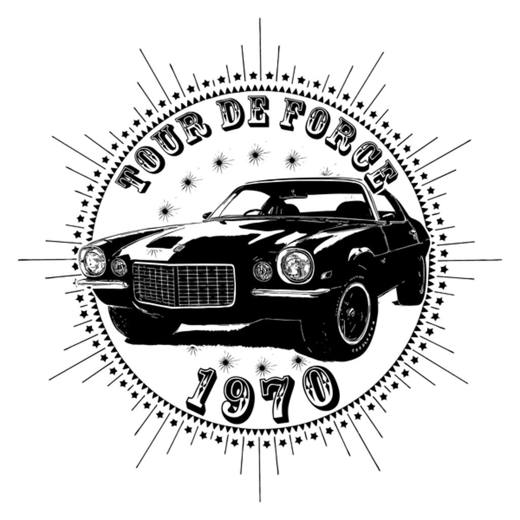 NeatoShop: Vintage Classic Car 1970 Tour De Force Chevy Cama