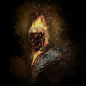 Qwertee: Dark rider