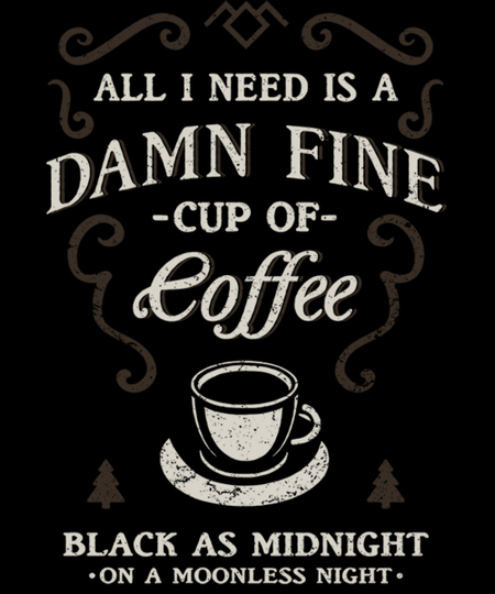 Qwertee: Black as Midnight