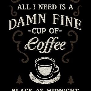 Qwertee: Black as Midnight
