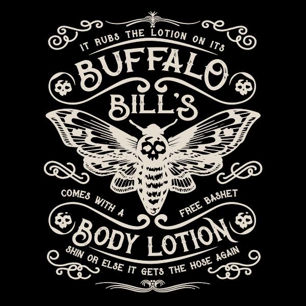 NeatoShop: Buffalo Bill's Body Lotion Label