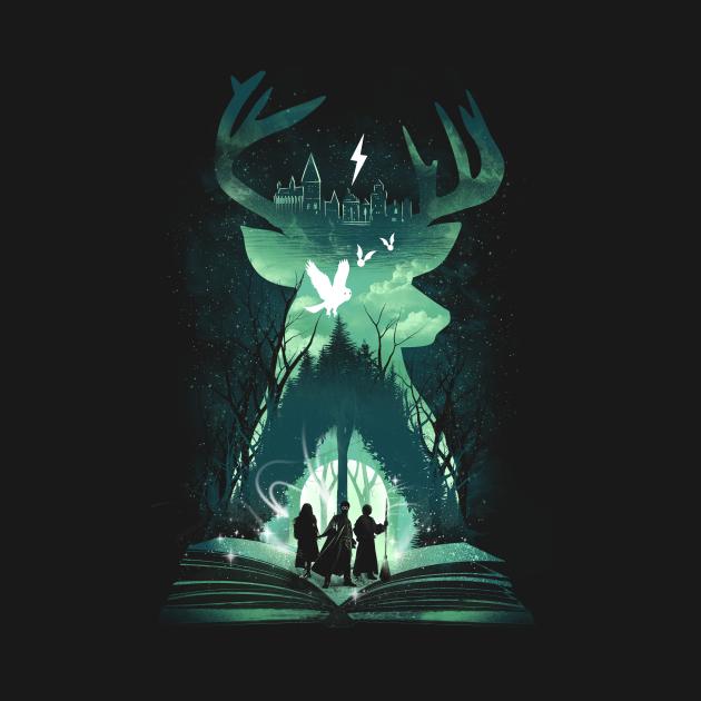 TeePublic: The Magic Never Ends