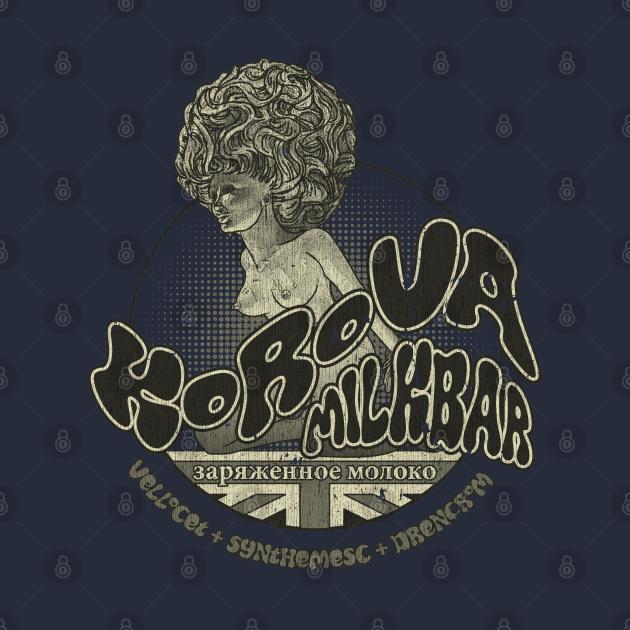 TeePublic: Korova Milkbar Vintage