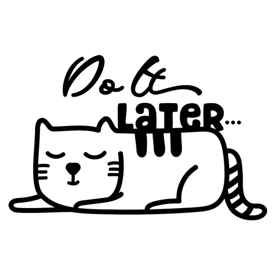 BustedTees: Do it Later