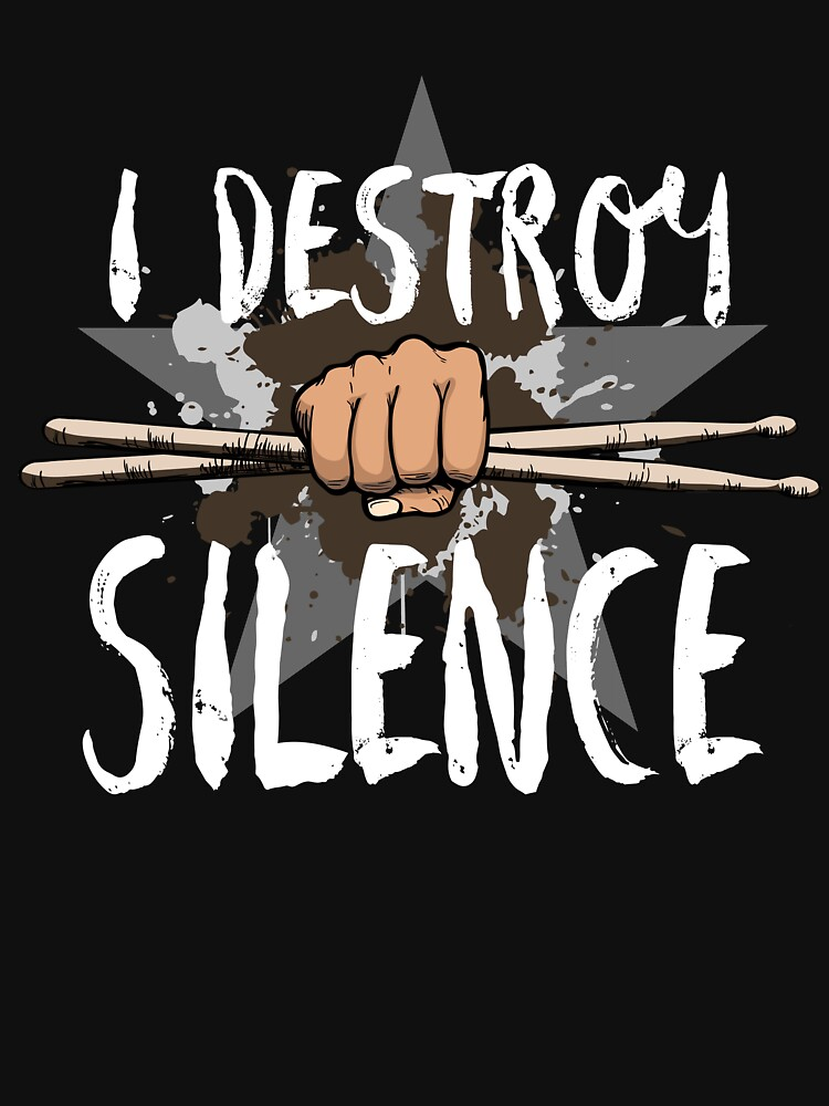 RedBubble: I Destroy Silence