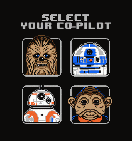 BustedTees: Select Your Co-Pilot