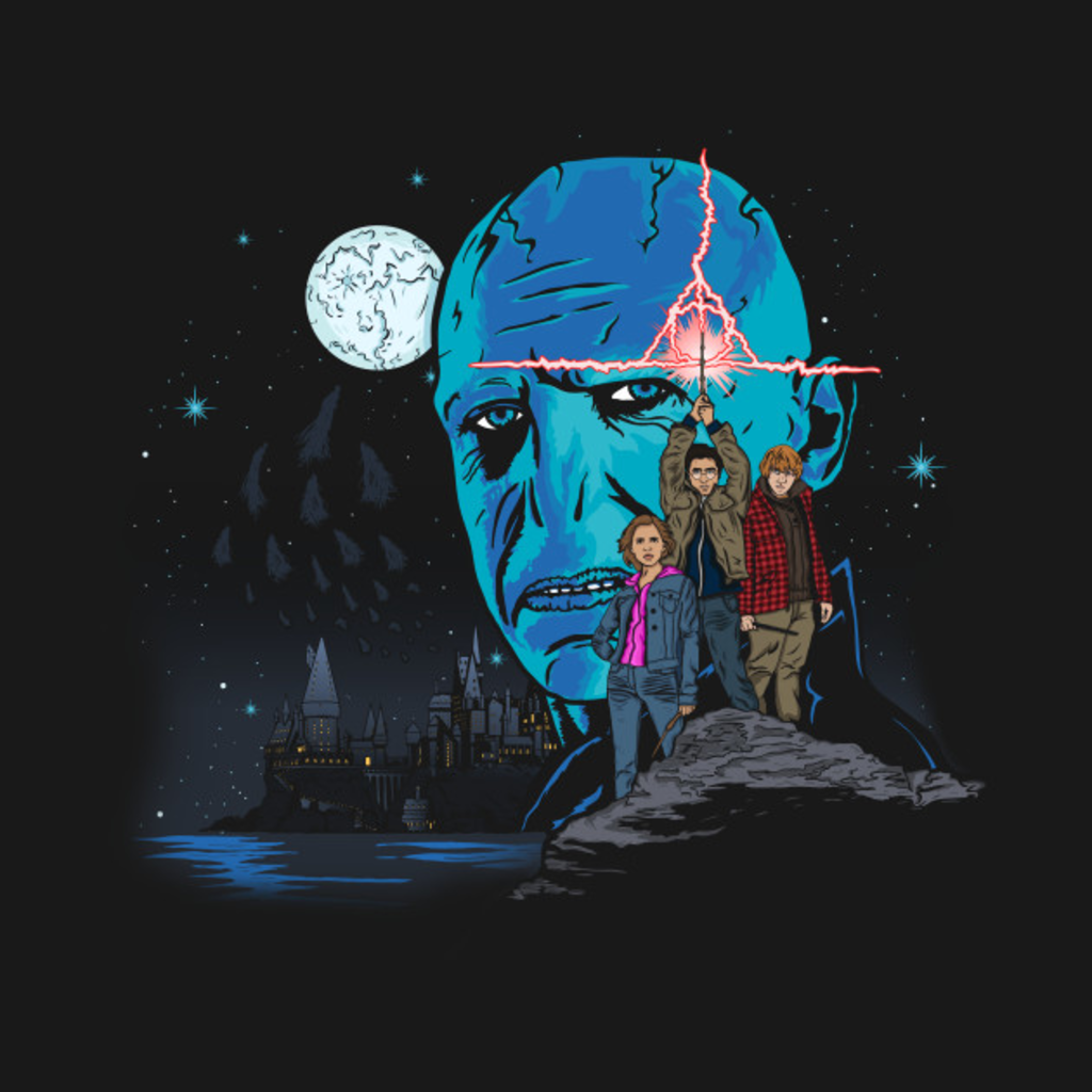 TeePublic: Wizard Wars