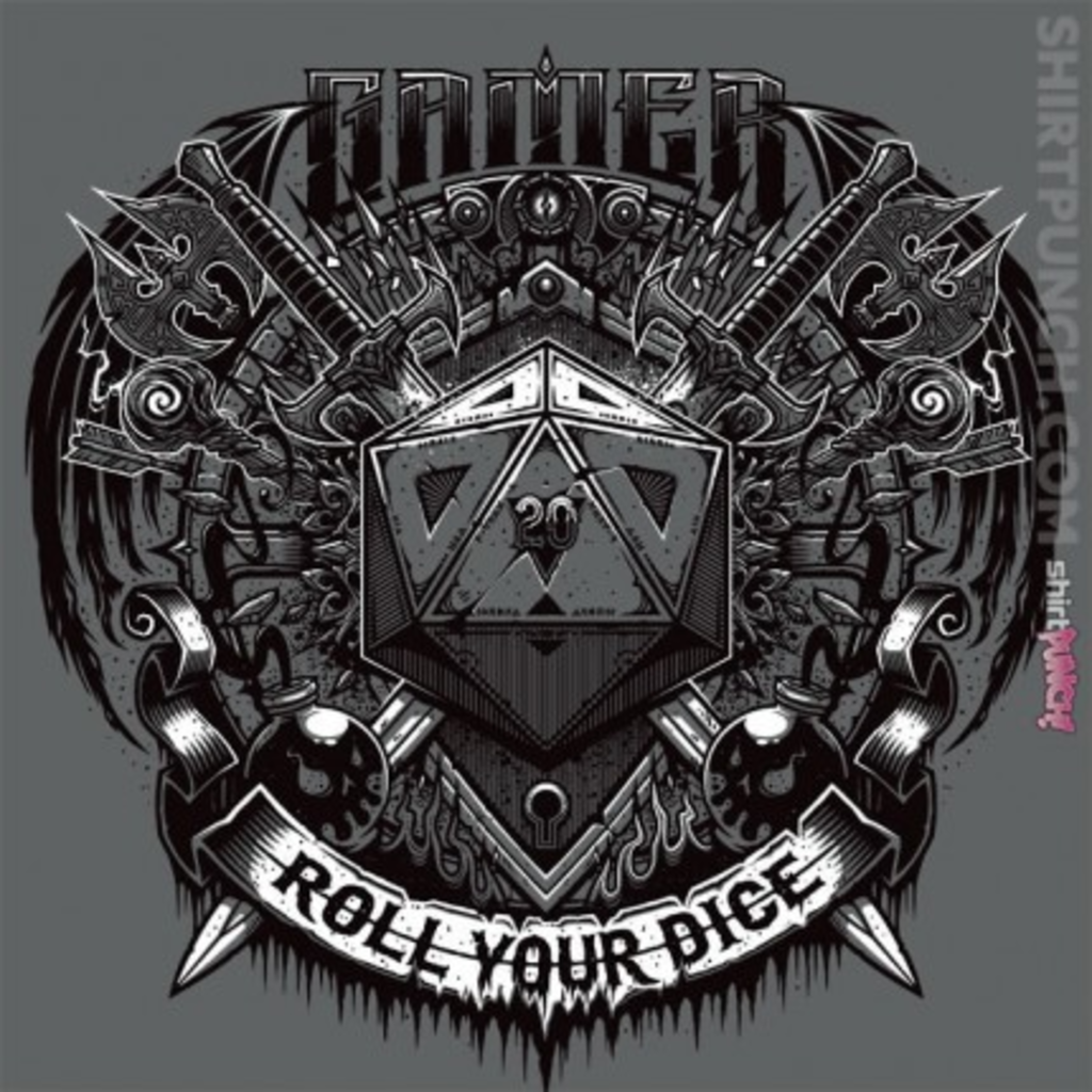 ShirtPunch: Roll your dice
