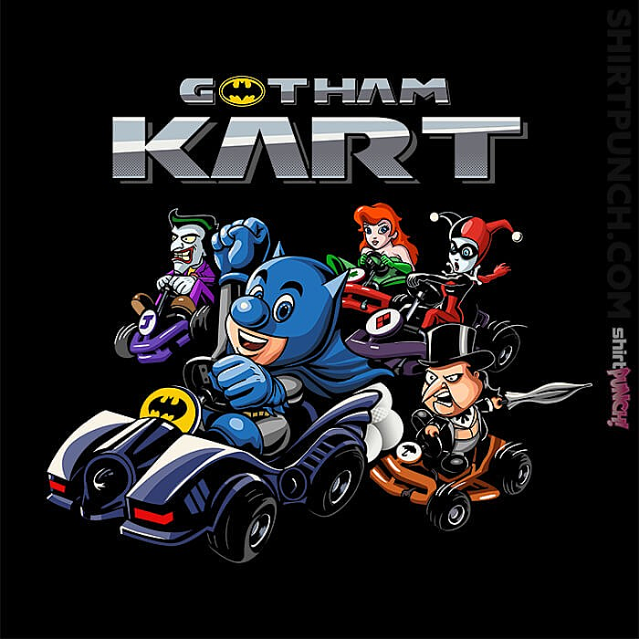 ShirtPunch: Gotham Kart