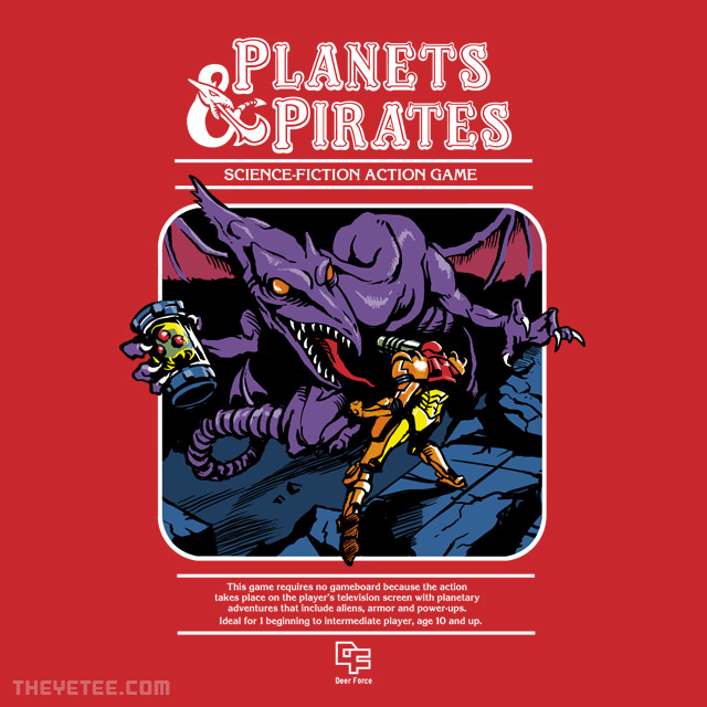 The Yetee: Planets & Pirates