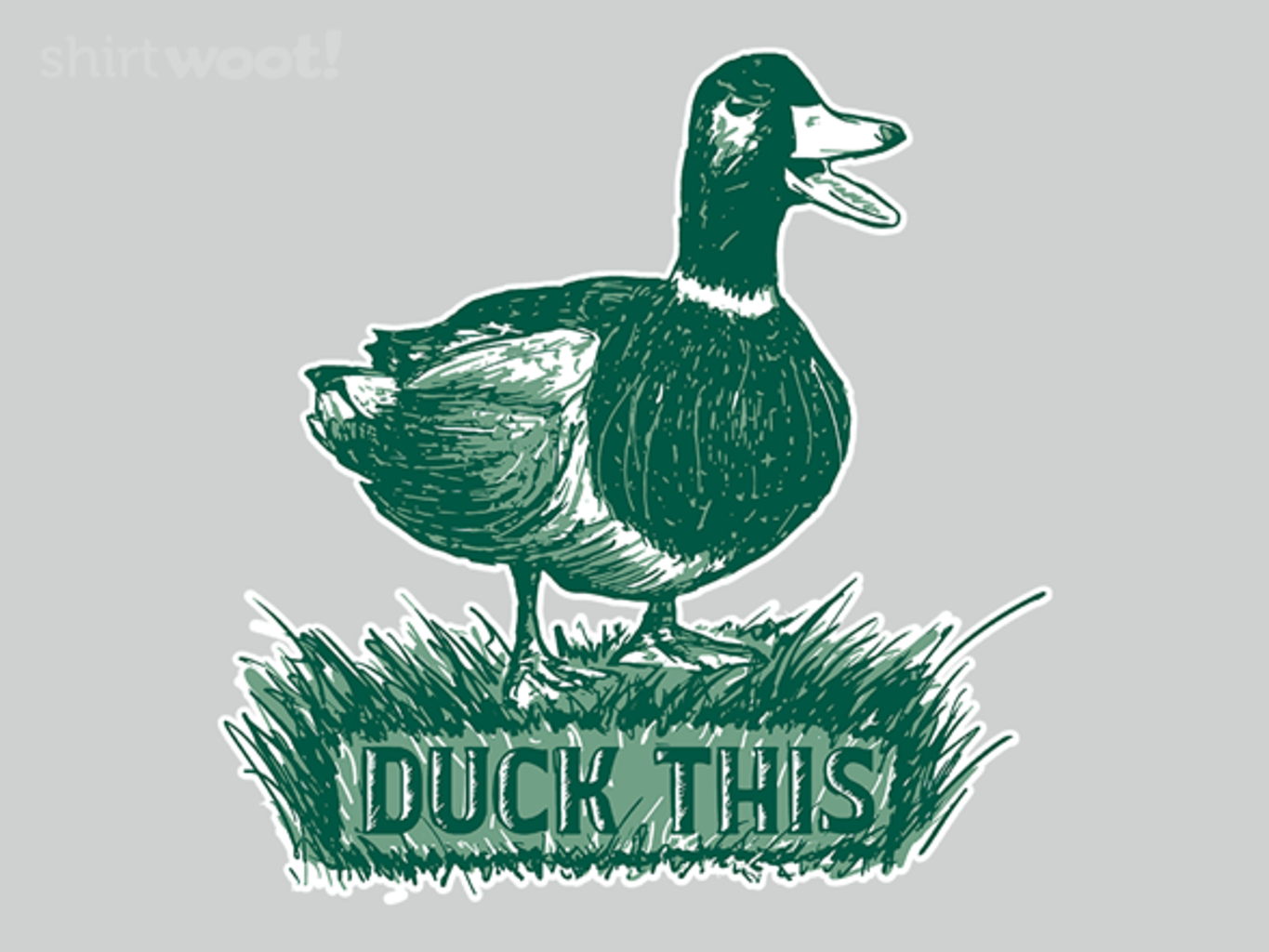 Woot!: Duck This