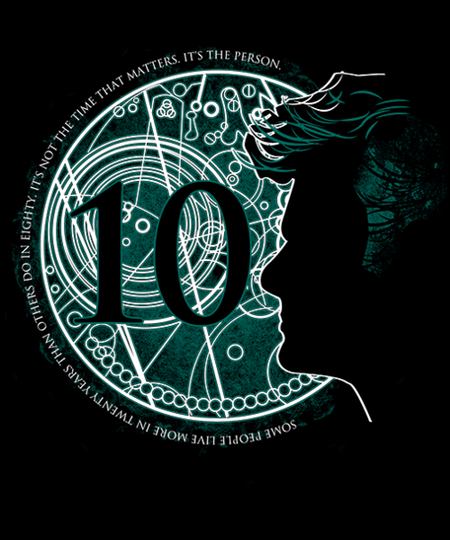 Qwertee: Time Word No. 10