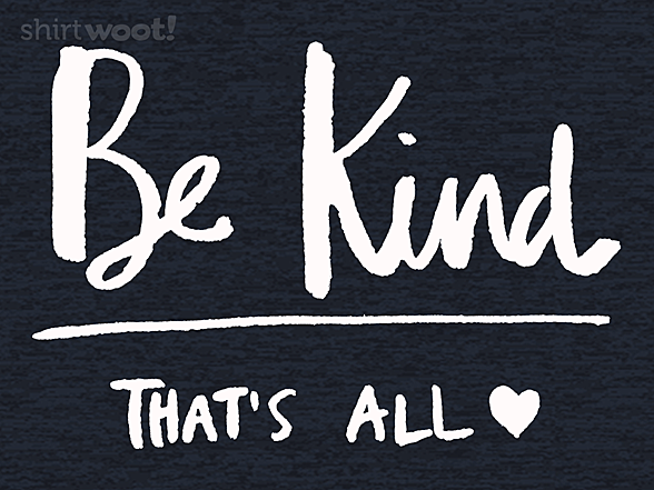 Woot!: Kindness Matters