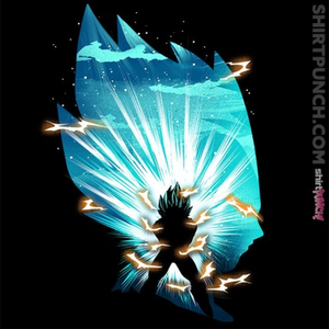 ShirtPunch: The Saiyan Prince