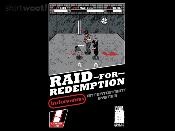 Woot!: The Raid - $8.00 + $5 standard shipping