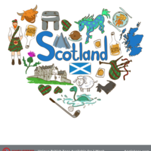 Anglotees: Love Scotland