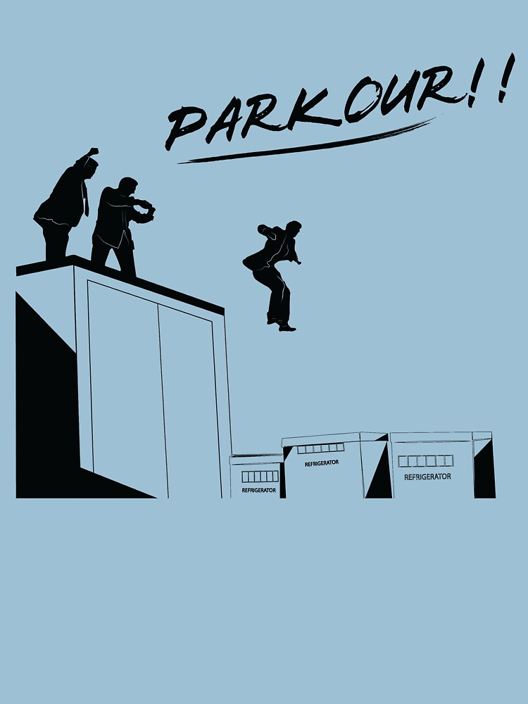 RedBubble: Office - Parkour
