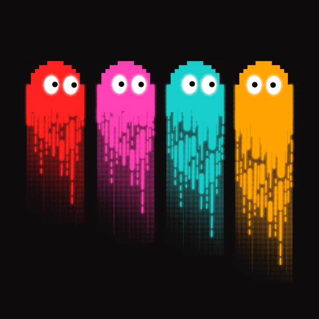 Pampling: Pac Color Ghost
