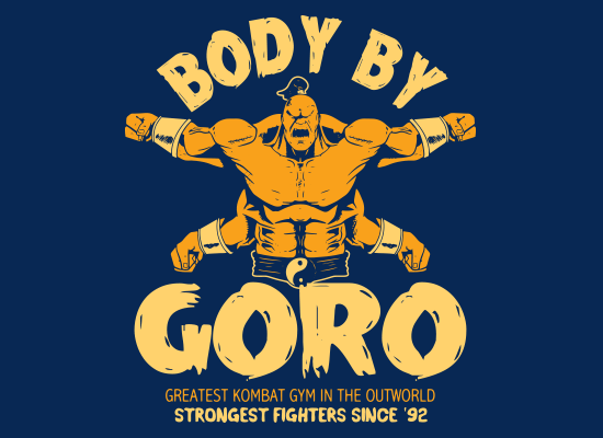 SnorgTees: Body By Goro