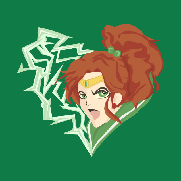 TeePublic: sailor jupiter heart
