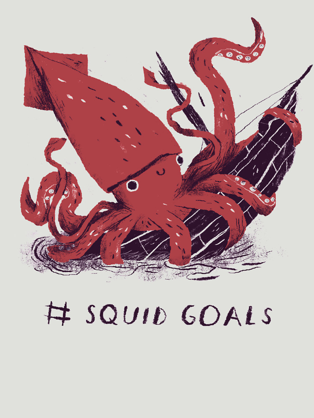 RedBubble: Squid Goals