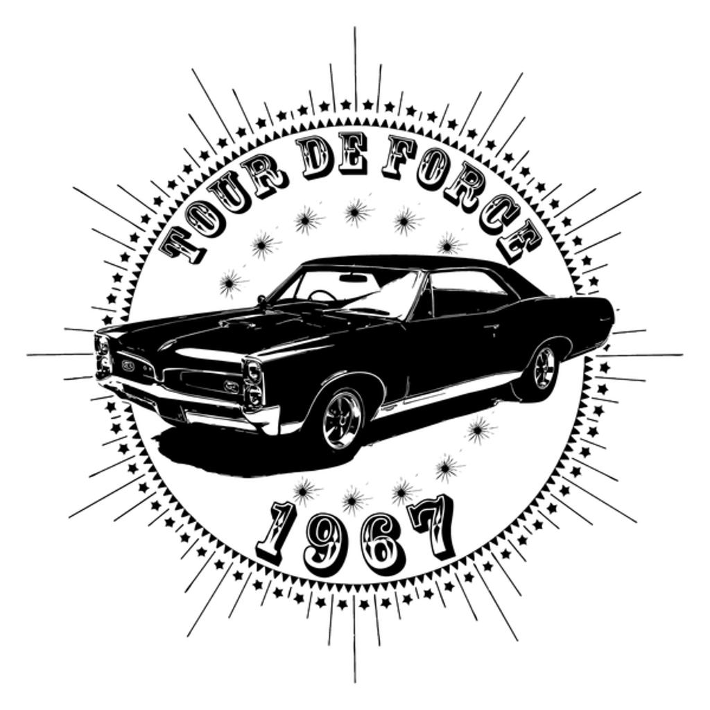 NeatoShop: Vintage Classic Car 1967 Tour De Force Pont