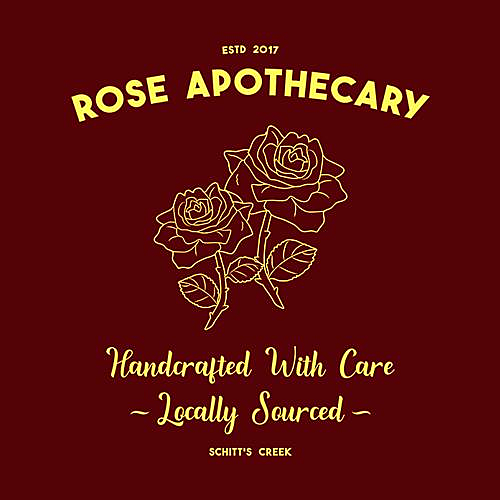 Five Finger Tees: Rose Apothecary T-Shirt