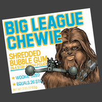 GraphicLab: Big League Chewie - $11