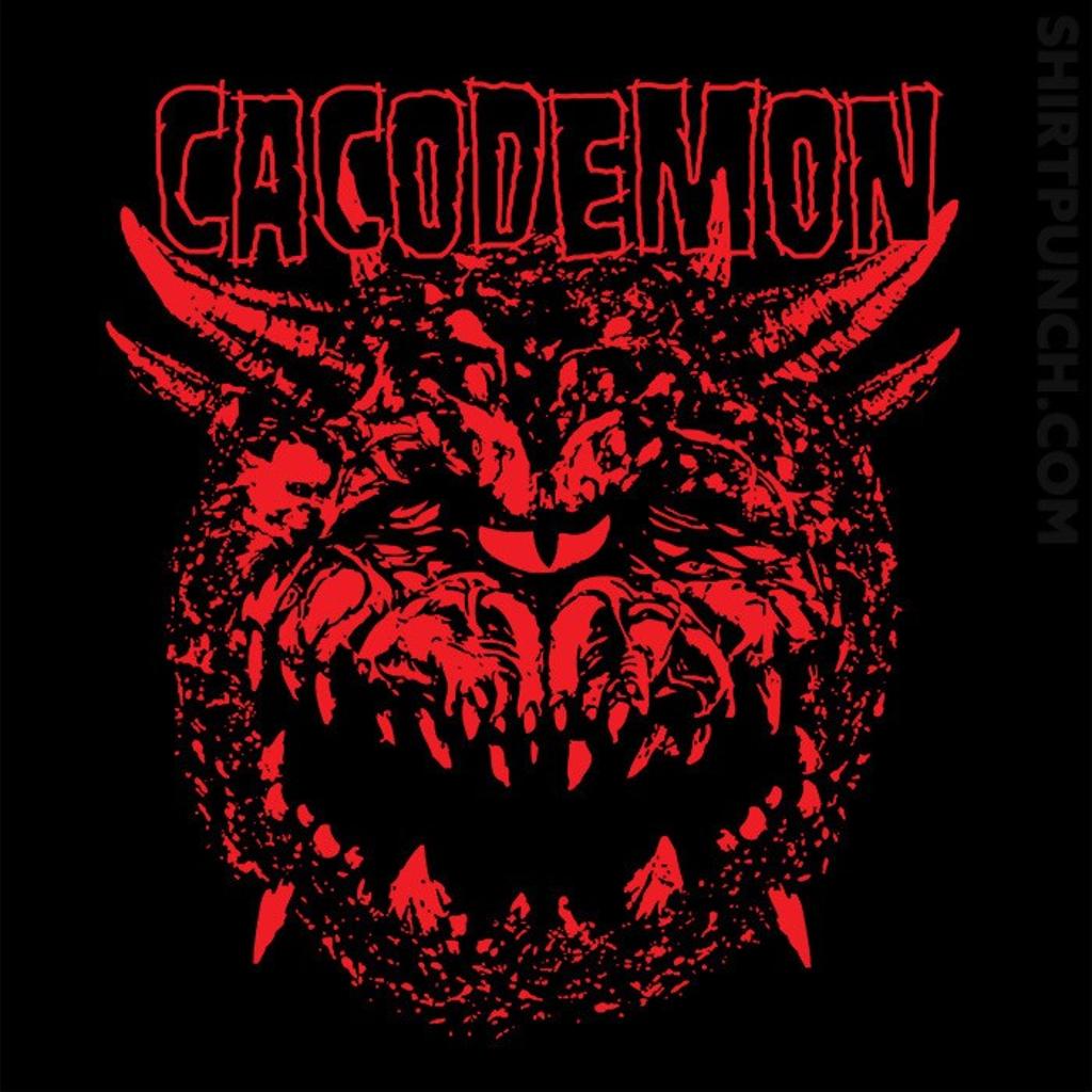 ShirtPunch: Cacodemon