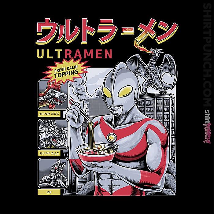 ShirtPunch: Ultramen