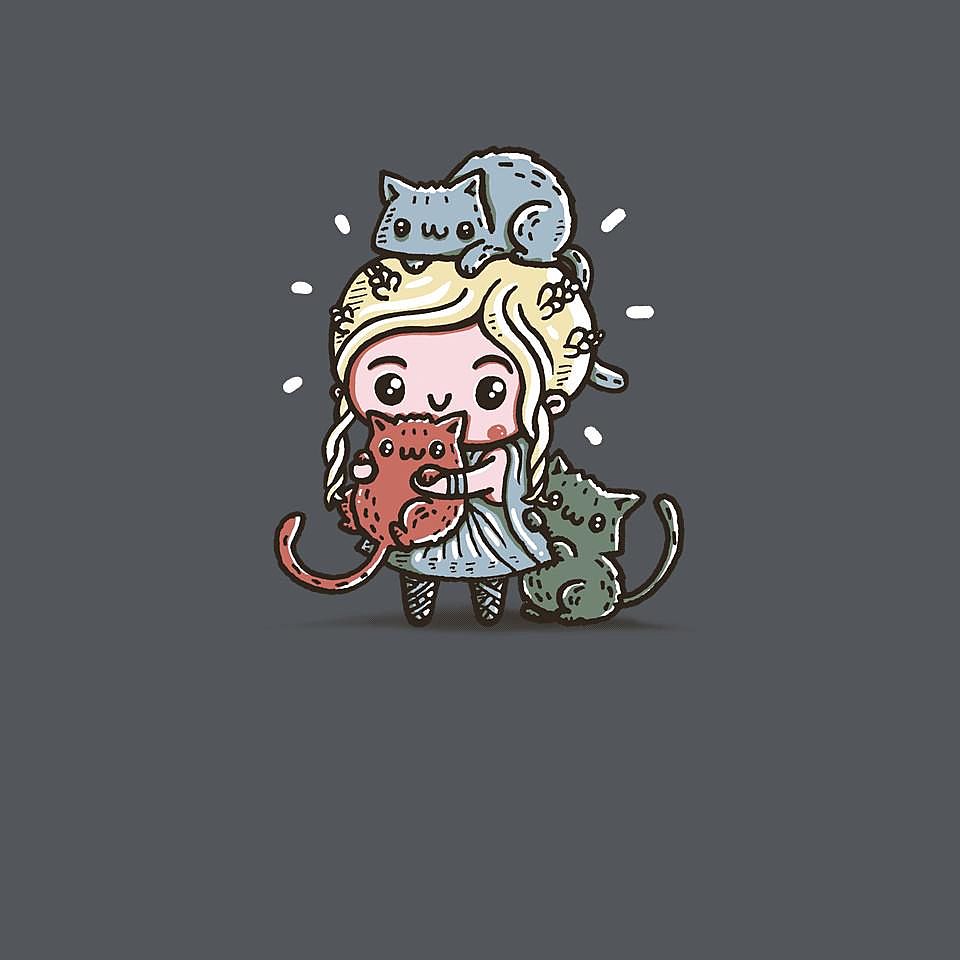 TeeFury: Mother of Cats