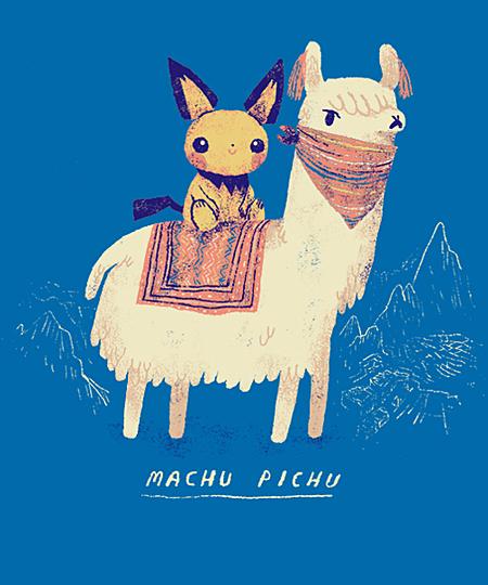 Qwertee: machu pichu
