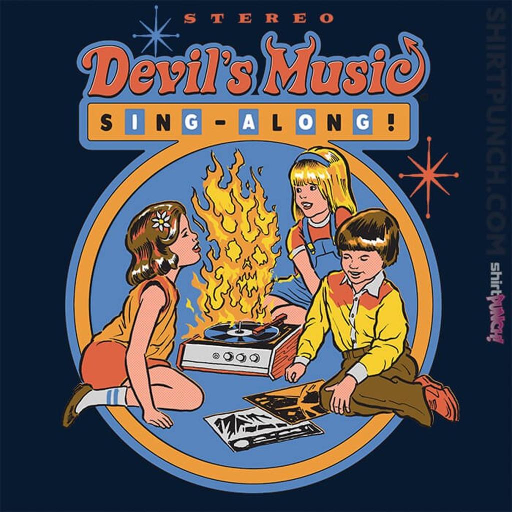 ShirtPunch: Devil's Music Sing-Along
