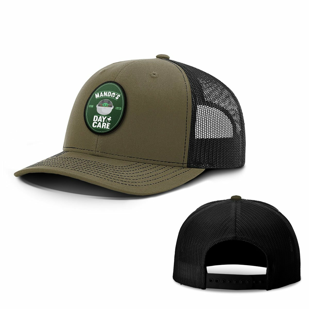 BustedTees: Mando's DayCare Patch Hats